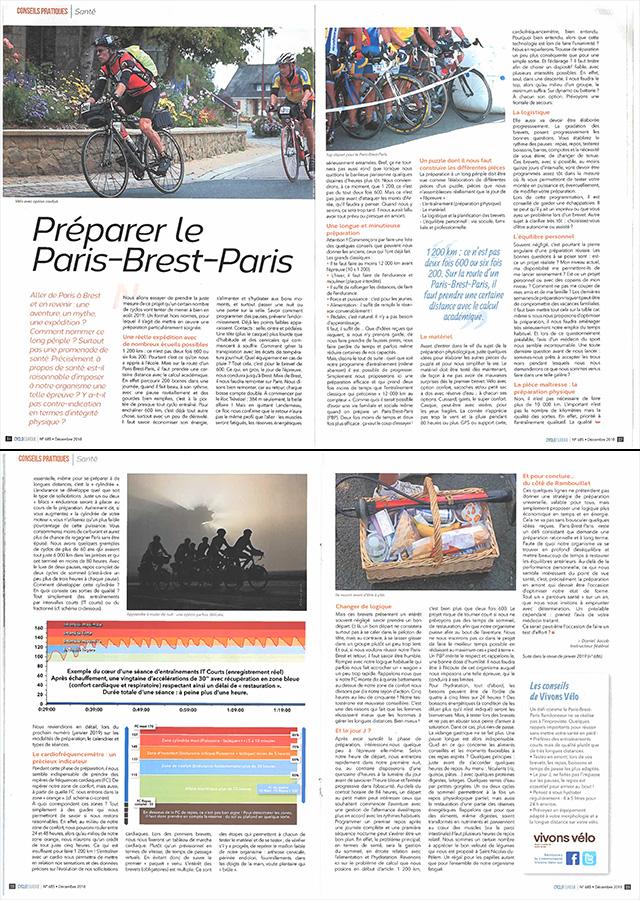 Revue Cyclotourisme n°685 - Décembre 2019 pages 36-39